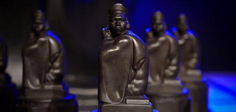 Monty Award statues