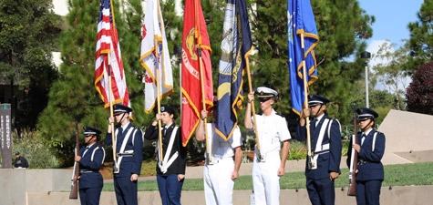 SDSU ROTC Color Guard