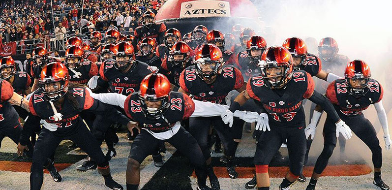 Aztecs to Play for Conference Title