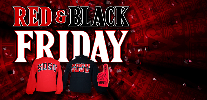Red & Black Friday is here!