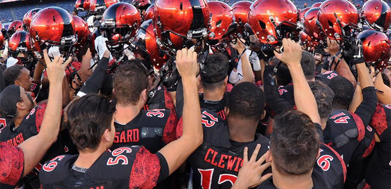 Aztecs Football Deal for New Lifetime Members