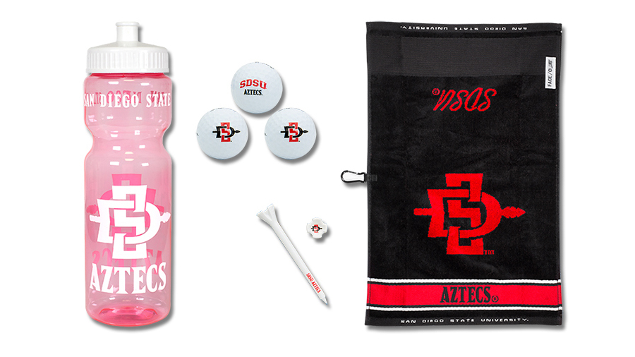 Hit the Links with an SDSU Golf Gift Set!
