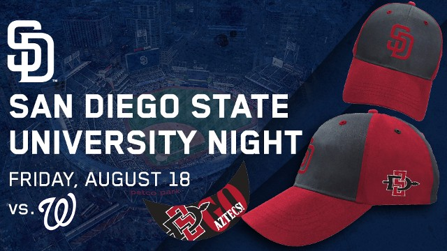 Get your tickets for SDSU Night at the Padres!