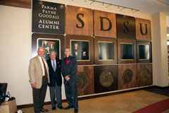 Parma Payne Goodall Alumni Center grand opening