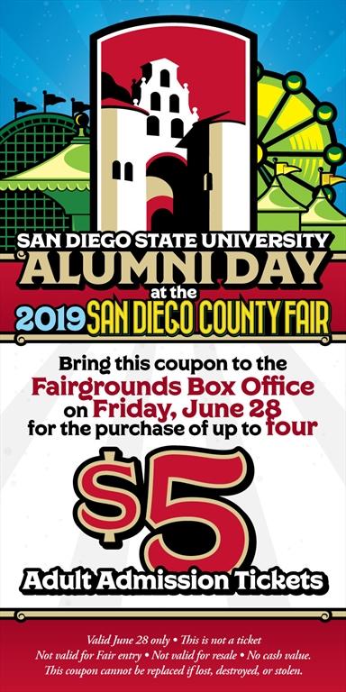 SDSU Alumni - SDSU Alumni Day at the San Diego County Fair!