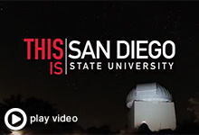 This is San Diego State University