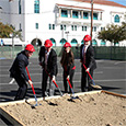 Breaking Ground on South Campus Plaza