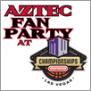 Aztec Fan Party