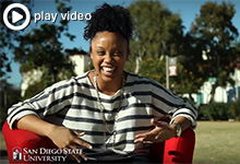 60 Seconds in the Red Chair, Channelle McNutt ('13)