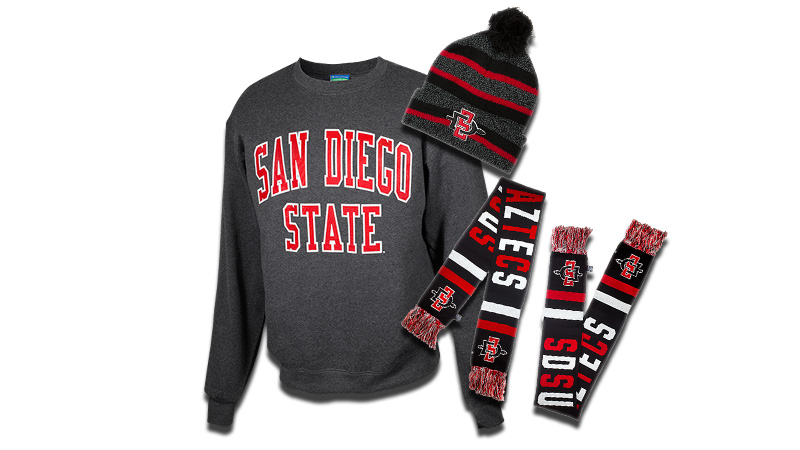 Gear up for chilly weather with this month s Aztec for Life® Monthly Prize  Giveaway! Our November winner will receive a San Diego State sweatshirt 1a6cc5767
