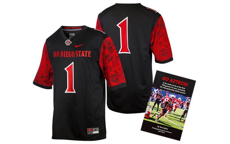 e28113a92 SDSU football kicks off in September so to start the season in proper  fashion this month s winner of the Aztec for Life® Monthly Prize Giveaway  will receive ...