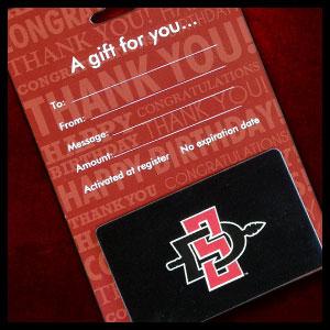 $40 SDSU Bookstore gift card